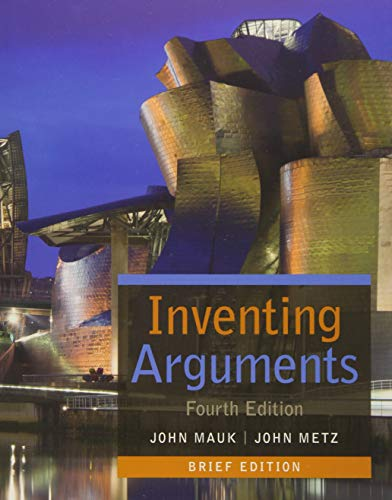 9781305113312: Inventing Arguments, Brief (Inventing Arguments Series)