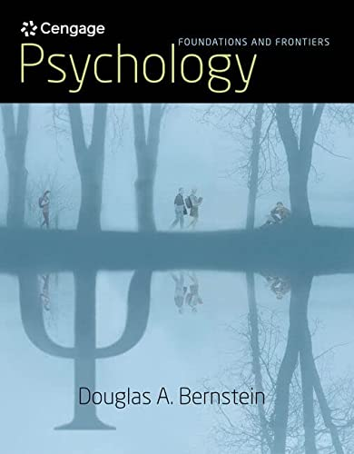 Psychology: Foundations and Frontiers: Bernstein, Douglas