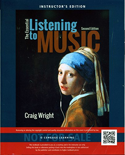 9781305114845: The Essential Listening to Music Instructor's Edition