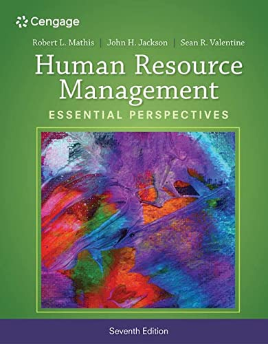 Human Resource Management: Essential Perspectives: Mathis, Robert L.;