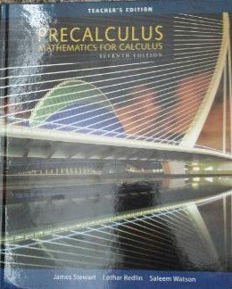 Precalculus Mathematics For Calculus Teacher S Edition By James