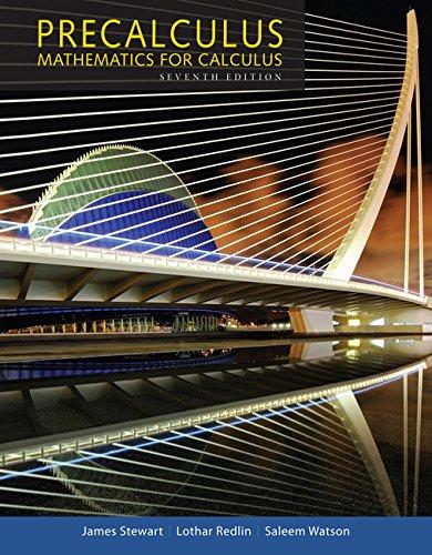 9781305115309: Precalculus: Mathematics for Calculus