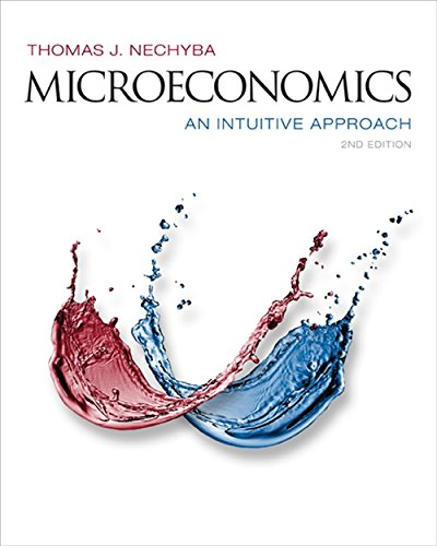 9781305115941: Microeconomics: An Intuitive Approach