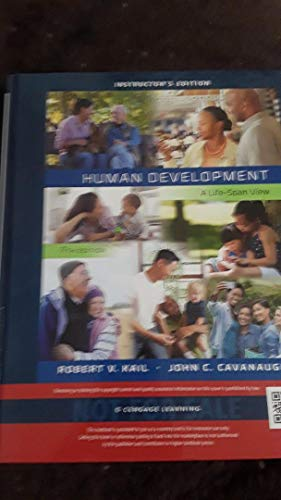 9781305116658: i. HUMAN DEVELOPMENT a life-span approach