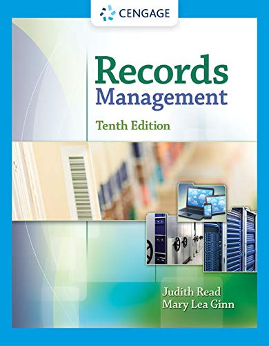 9781305119161: Records Management