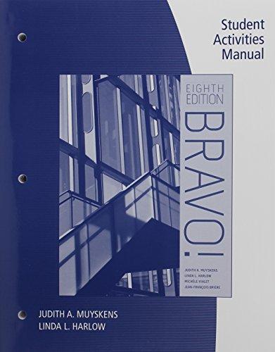 9781305121737: Bundle: Bravo!, 8th + SAM + Premium Web Site Printed Access Card