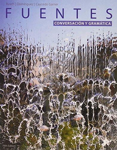 9781305126848: Bundle: Fuentes: Conversacion y gramática, 5th + iLrn™ Heinle Learning Center Printed Access Card