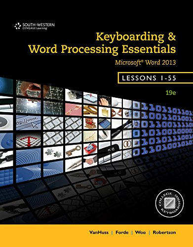 9781305132313: Bundle: Keyboarding and Word Processing Essentials, Lessons 1-55, 9th + Keyboarding Pro DELUXE Online Lessons 1-55, 1 term (6 month) Printed Access Card