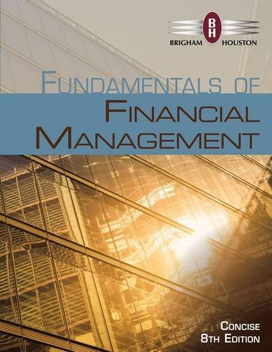 9781305132559: Bundle: Fundamentals of Financial Management, Concise Edition (with Thomson ONE - Business School Edition 6-Month Printed Access Card), 8th + Aplia Printed Access Card
