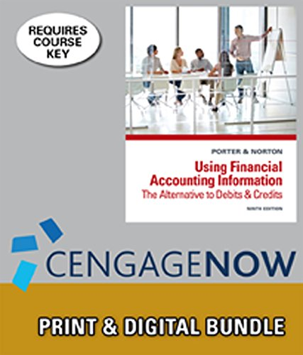 9781305135550: Bundle: Using Financial Accounting Information: The Alternative to Debits and Credits, 9th + CengageNOW™, 1 term Printed Access Card