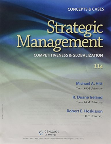 9781305135765: Bundle: Strategic Management: Concepts and Cases: Competitiveness and Globalization, Loose-leaf Version, 11th + MindTap Management, 1 term (6 months) Printed Access Card