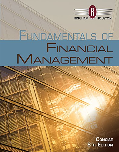 9781305135789: Bundle: Fundamentals of Financial Management, Concise Edition (with Thomson ONE - Business School Edition, 1 term (6 months) Printed Access Card), 8th + Aplia Printed Access Card