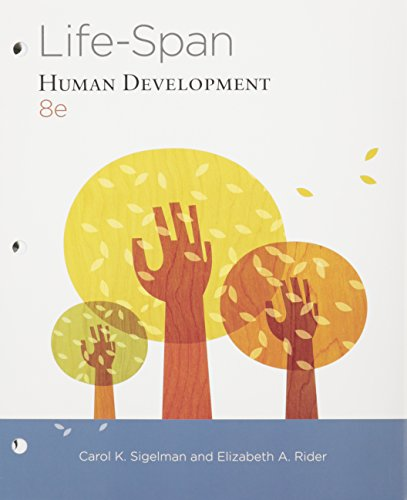 Life-span Human Development + Mindtap Psychology, 1-term: Sigelman, Carol K./