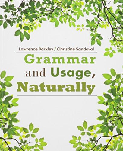 Bundle: Grammar and Usage, Naturally + Aplia: Larry Barkley