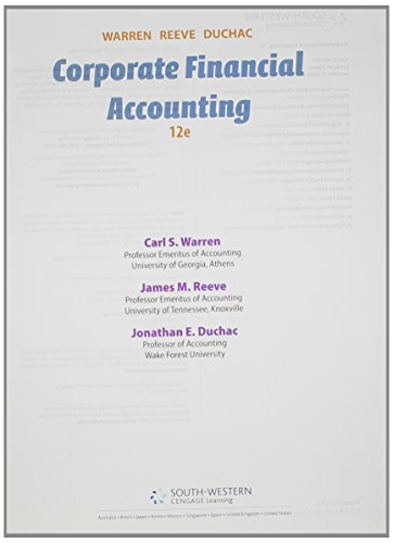 9781305136656: Bundle: Corporate Financial Accounting, 12th + CengageNOW with Cengage Learning Write Experience 2.0 Powered by MyAccess Printed Access Card