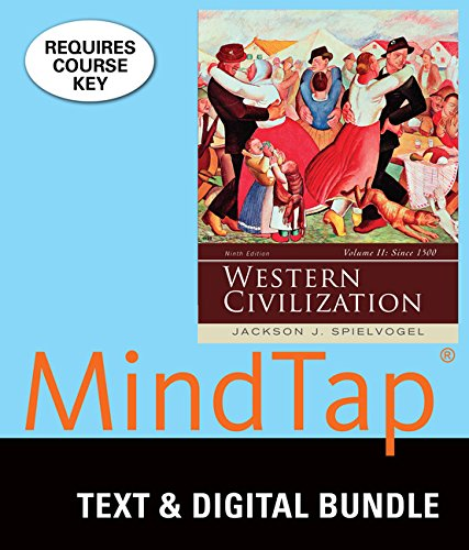 9781305137912: Bundle: Western Civilization: Volume II: Since 1500, 9th + MindTap History Access Code