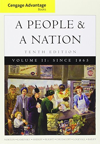 9781305138278: Bundle: Cengage Advantage Books: A People and a Nation: A History of the United States, Volume II: Since 1865, 10th + Aplia Printed Access Card