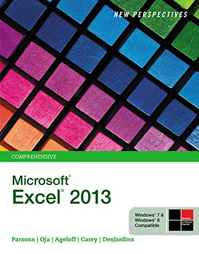 9781305181489: Bundle: New Perspectives on Microsoft Excel 2013, Comprehensive + SAM 2013 Assessment, Training and Projects with MindTap Reader for New Perspectives Microsoft Excel 2013 Comprehensive Access Code