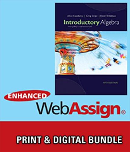 Bundle: Cengage Advantage Books: Introductory Algebra: Everyday Explorations, 5th + Enhanced ...