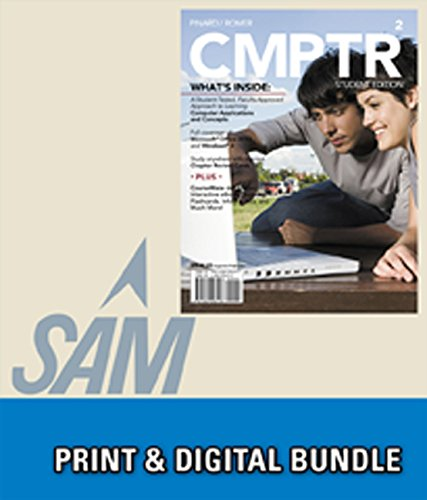 9781305237445: Bundle: CMPTR2 + SAM 2013 Assessment, Training and Projects with MindTap Reader for CMPTR v3.0 Multi-Term Access Code