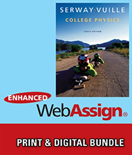 9781305237926: Bundle: College Physics, 10th + WebAssign Printed Access Card for Serway/Vuille's College Physics, 10th Edition, Multi-Term