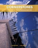 9781305239425: Bundle: Cornerstones of Cost Management, 3rd + CengageNOW Printed Access Card, 3rd Edition