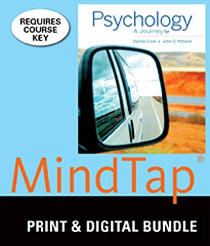9781305240377: Bundle: Psychology: A Journey, 5th + MindTap Psychology, 1 term (6 months) Printed Access Card