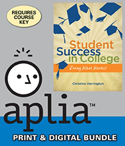 9781305240612: Bundle: Student Success in College: Doing What Works! + Aplia, 1 term Printed Access Card