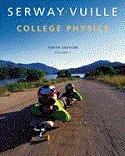 9781305244849: Bundle: College Physics, Volume 1, 10th + Enhanced WebAssign Multi-Term LOE Printed Access Card, 10th Edition