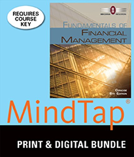 9781305249332: Bundle: Fundamentals of Financial Management, Concise Edition (with Thomson ONE - Business School Edition 6-Month Printed Access Card), 8th + MindTap Finance, 1 term (6 months) Printed Access Card