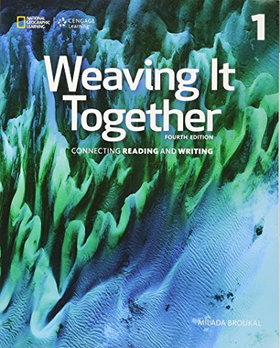 9781305251649: Weaving It Together 1: 0