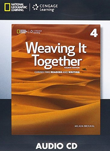 9781305251717: Weaving It Together 4: Audio CD 4e