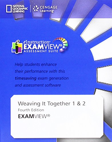 9781305251748: Weaving It Together Assessment CD ROM with ExamView Levels 1 & 2