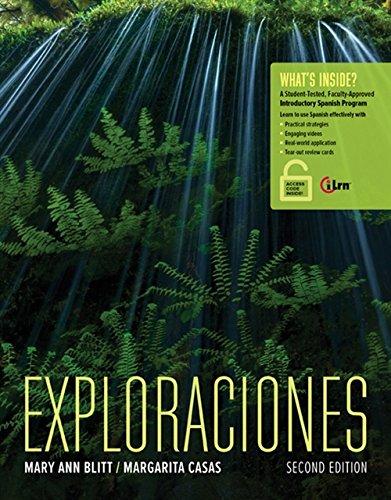 9781305252479: Exploraciones with Access Card