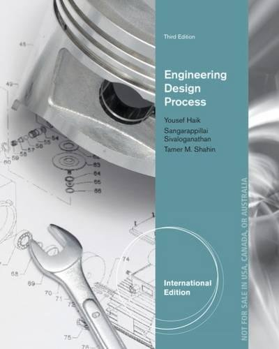 9781305253308: Engineering Design Process, International Edition