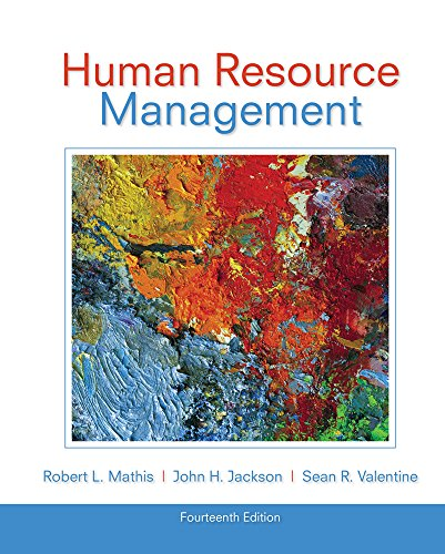 Human Resource Management: Mathis, Robert L.;