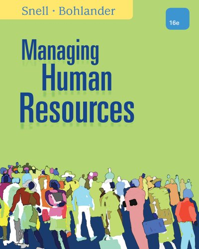 9781305258358: Managing Human Resources