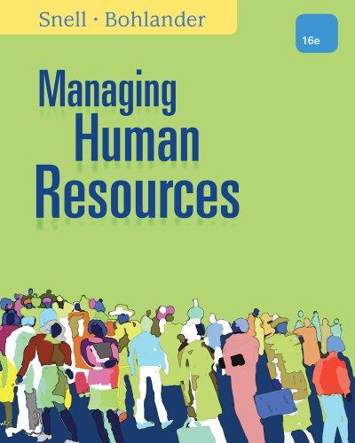9781305258358: Managing Human Resources
