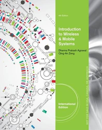 9781305259621: Introduction to Wireless and Mobile Systems, International Edition