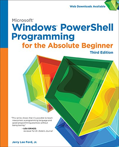 9781305260344: Windows PowerShell Programming for the Absolute Beginner