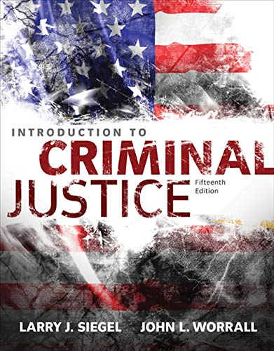 9781305261044: Introduction to Criminal Justice