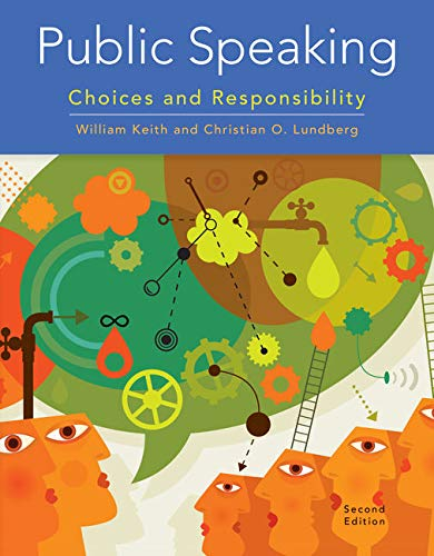 9781305261648: Public Speaking: Choices and Responsibility