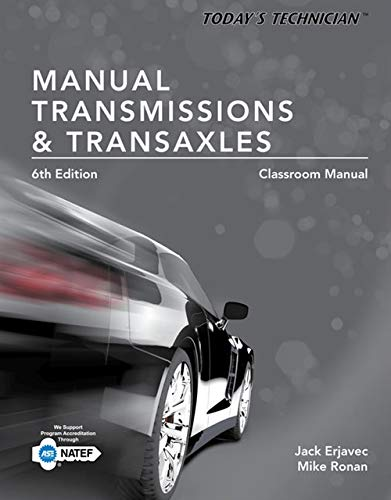 9781305261785: Today's Technician: Manual Transmissions and Transaxles Classroom Manual and Shop Manual, Spiral bound Version
