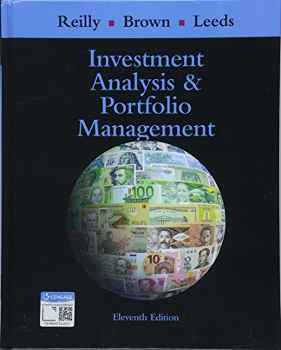 9781305262997: Investment Analysis and Portfolio Management