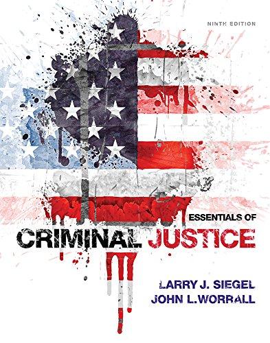 9781305263345: Essentials of Criminal Justice