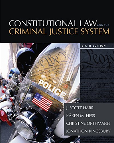 9781305263352: Constitutional Law and the Criminal Justice System
