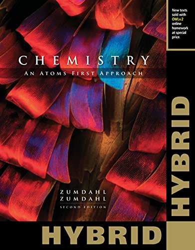 9781305264533: Chemistry: An Atoms First Approach, Hybrid Edition (with OWLv2 24-Months Printed Access Card)
