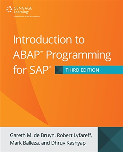 9781305266476: Introduction to ABAP Programming for SAP, 3rd Edition