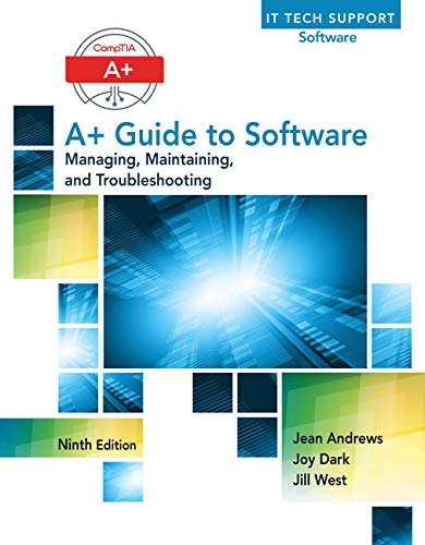 9781305266506: A+ Guide to Software