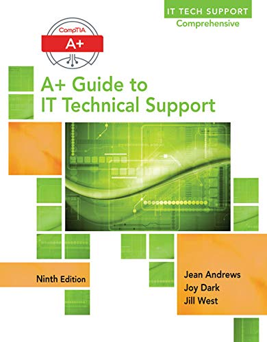 9781305266544: Lab Manual for Andrews' A+ Guide to IT Technical Support, 9th Edition